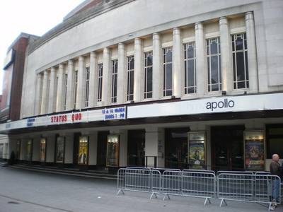 The famous Hammersmith Apollo