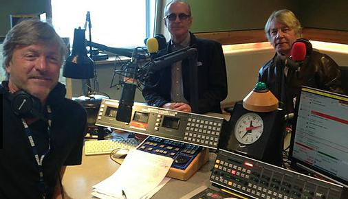 Richard, Francis and Rick in the studio