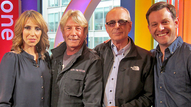 Alex, Rick, Francis and Matt on The One Show
